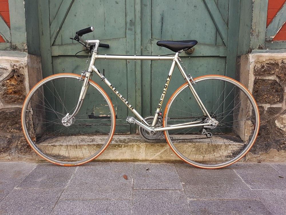 Vélo course Mercier