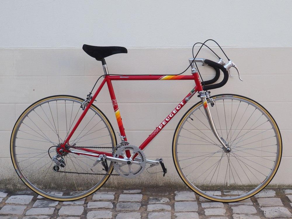 Vélo course Peugeot Ventoux