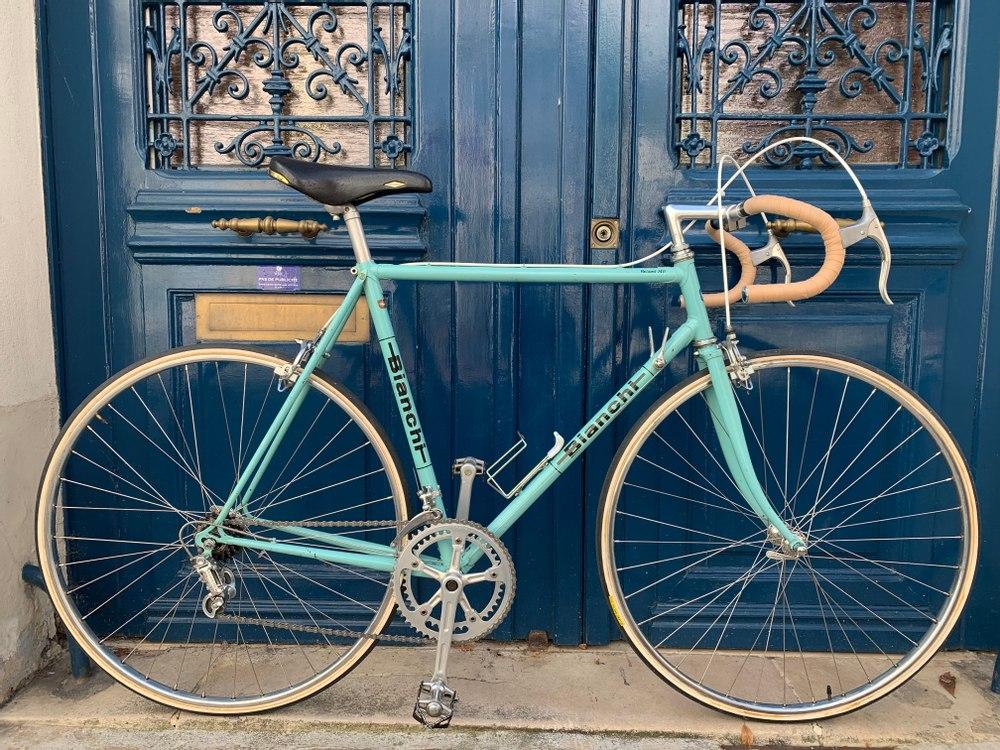 Vélo Route Bianchi Paris