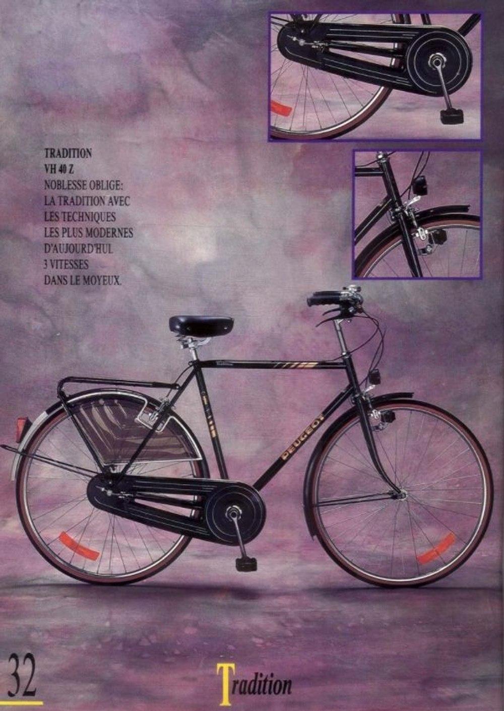 Vélo de ville Peugeot Tradition (type hollandais)