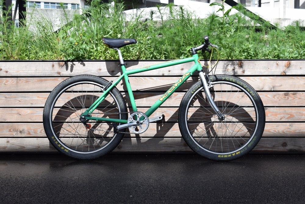 Vélo VTT Kona Paris