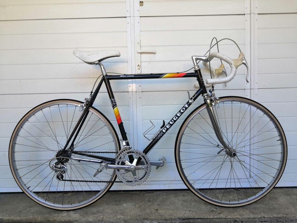 Vélo Peugeot course Mont-Cenis - Reynolds 501