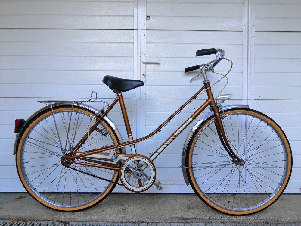 Vélo Ville Motobecane Paris