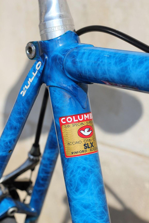 Vélo de course italien ZULLO équipé Campagnolo