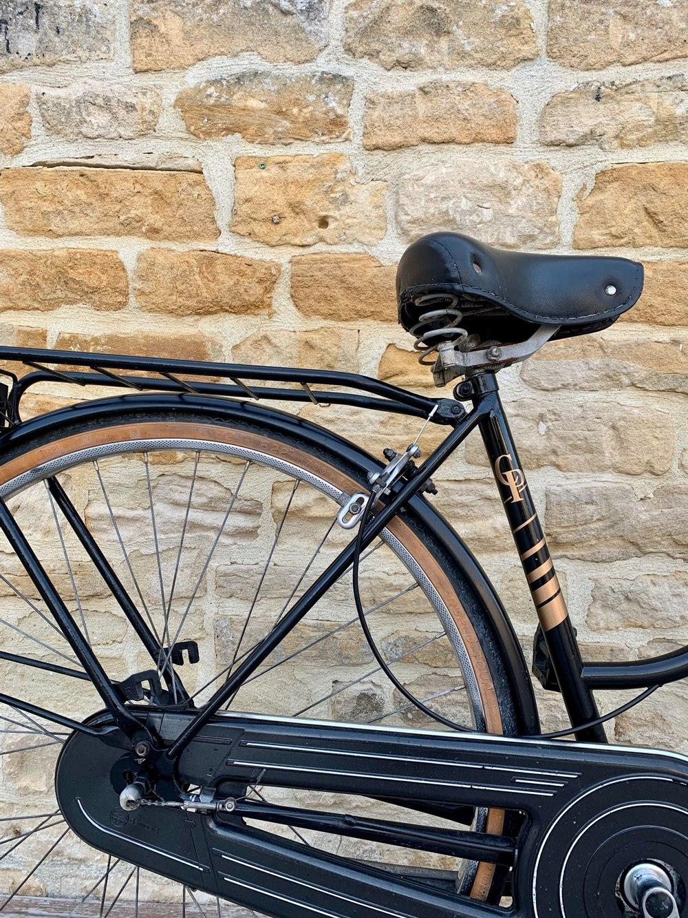 Vélo de ville Peugeot noir