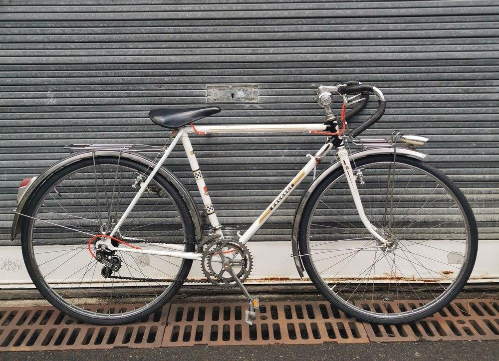 Vélo Route Peugeot Saint Ouen sur Seine