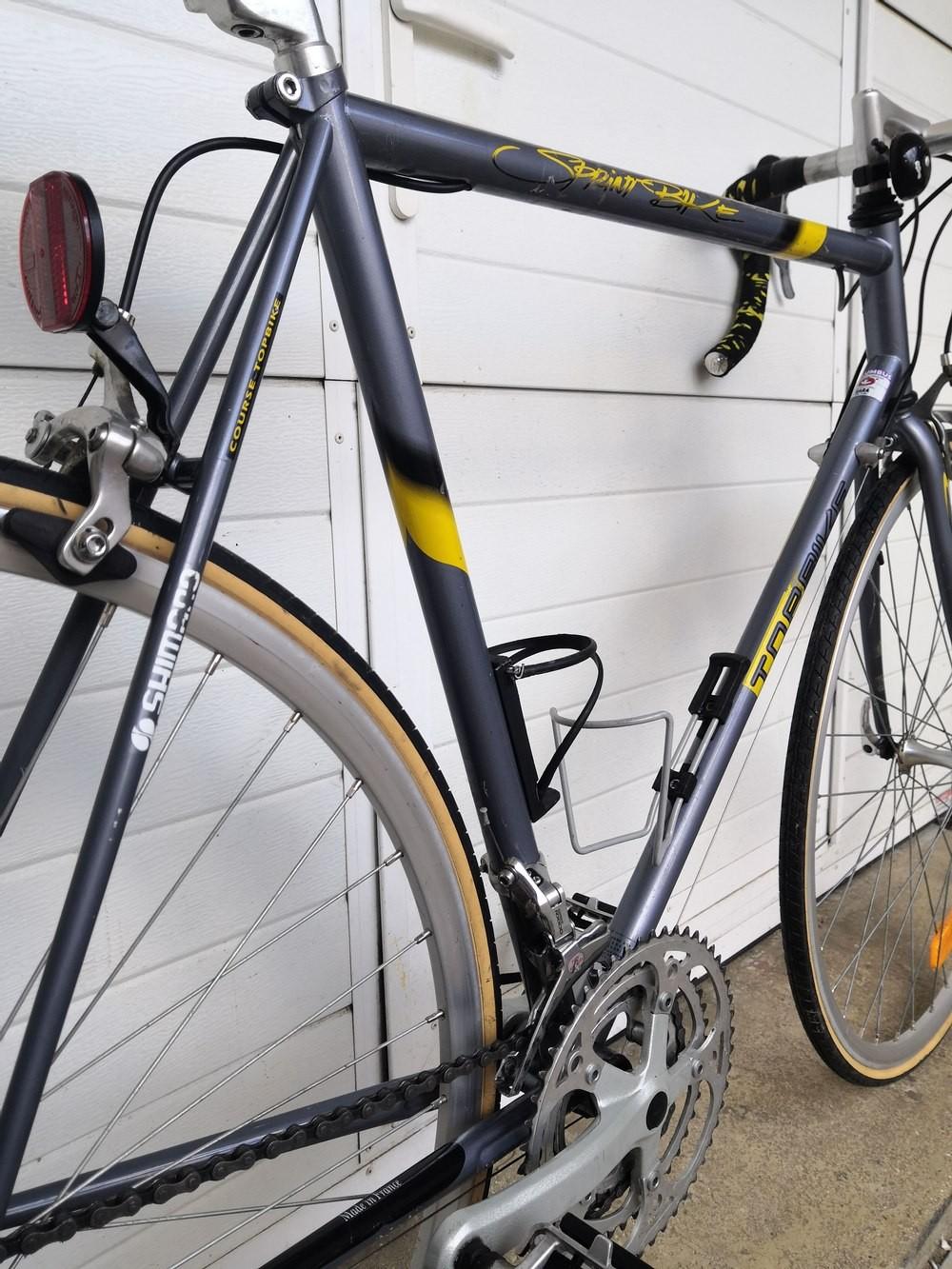 Vélo Top Bike course