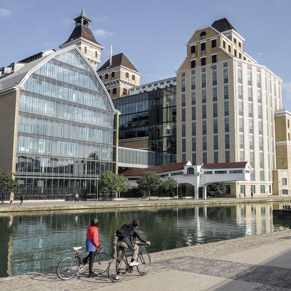 De Paris à Meaux à vélo, par le canal de l'Ourcq