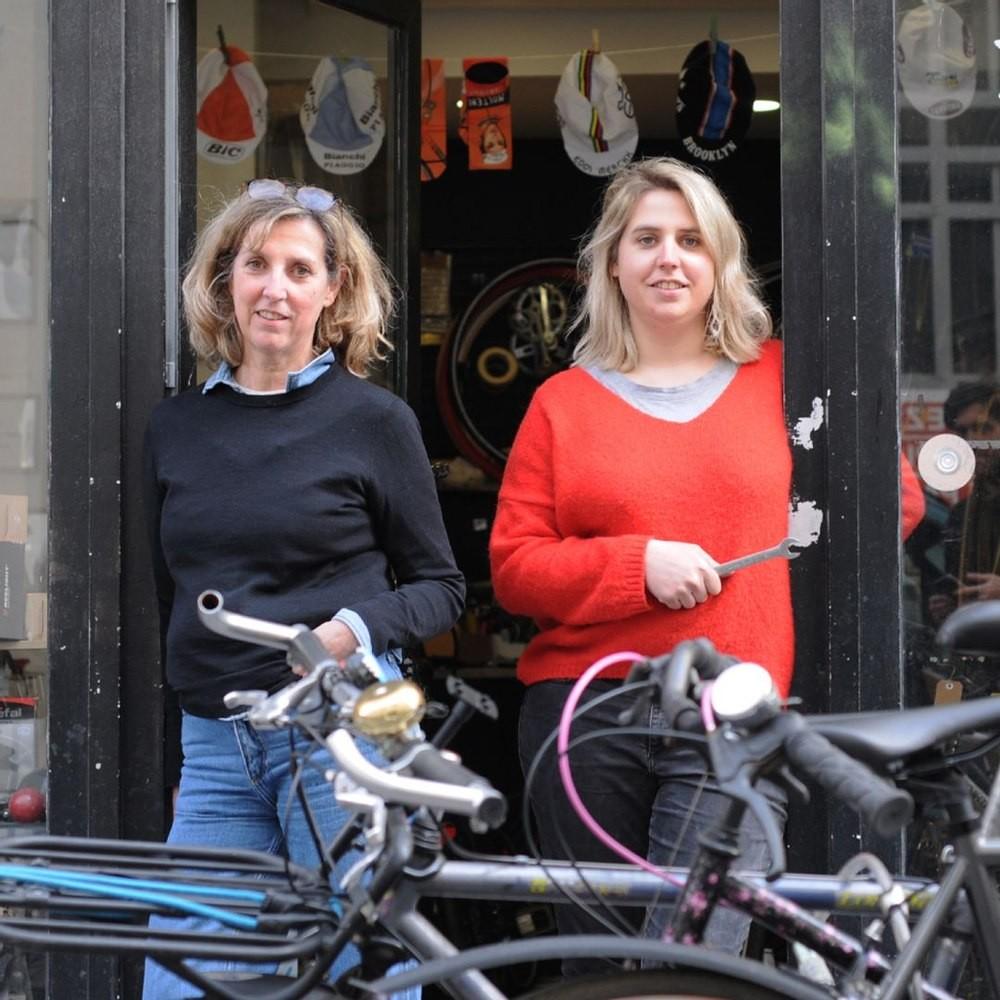 Le magasin et atelier de réparation de vélo de Wheelove Bike