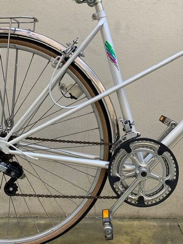 Vélo Peugeot ville Blanc